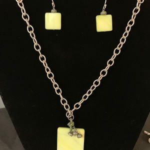 Silpada necklace-earrings